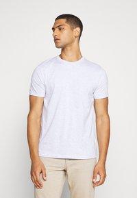 Topman - 7 PACK - Basic T-shirt - pink/white/grey/nature/stone - 4