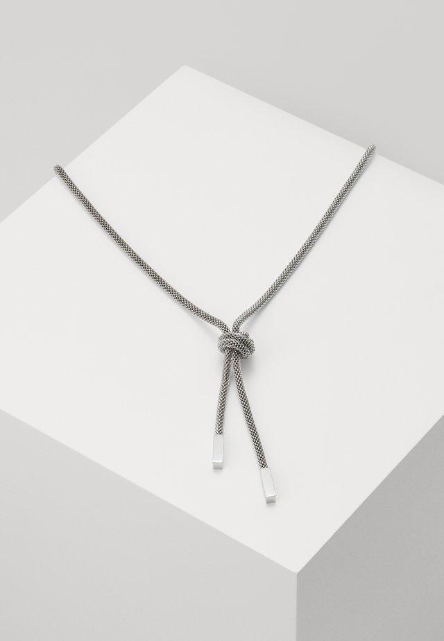 ROSETTE - Náhrdelník - silver-coloured