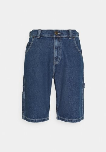 GARYVILLE - Jeansshorts - classic blue
