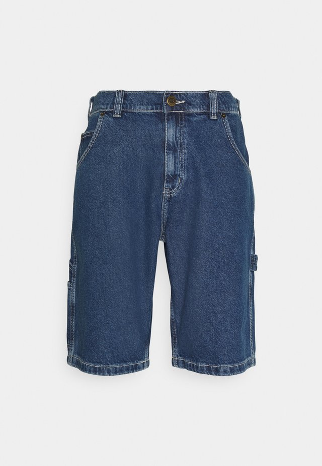 GARYVILLE - Shorts di jeans - classic blue