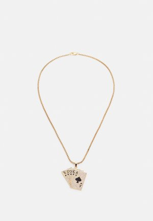 CARDS NECKLACE - Ketting - gold-coloured