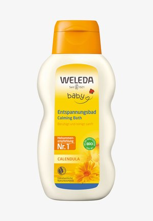 CALENDULA CALMING BATH - Bubble bath & soak - -