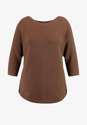 Pullover - cocoa brown