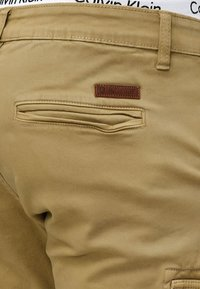 INDICODE JEANS - AUGUST - Pantaloni cargo - light brown - 3