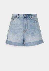 TALLIE - Denim shorts - blue dusty light