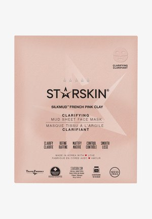 SILKMUD PINK CLAY SHEET MASK - Face mask - -