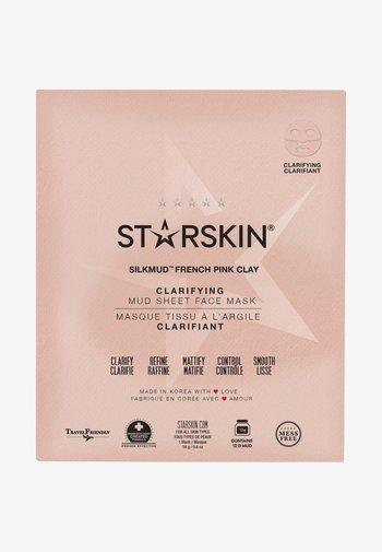 SILKMUD PINK CLAY SHEET MASK - Face mask - -