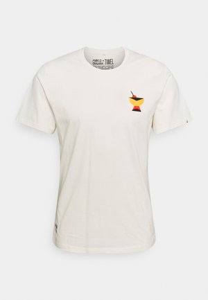 MARCO OGGIAN X TIWEL OGGY CHEERS - T-shirt print - off white