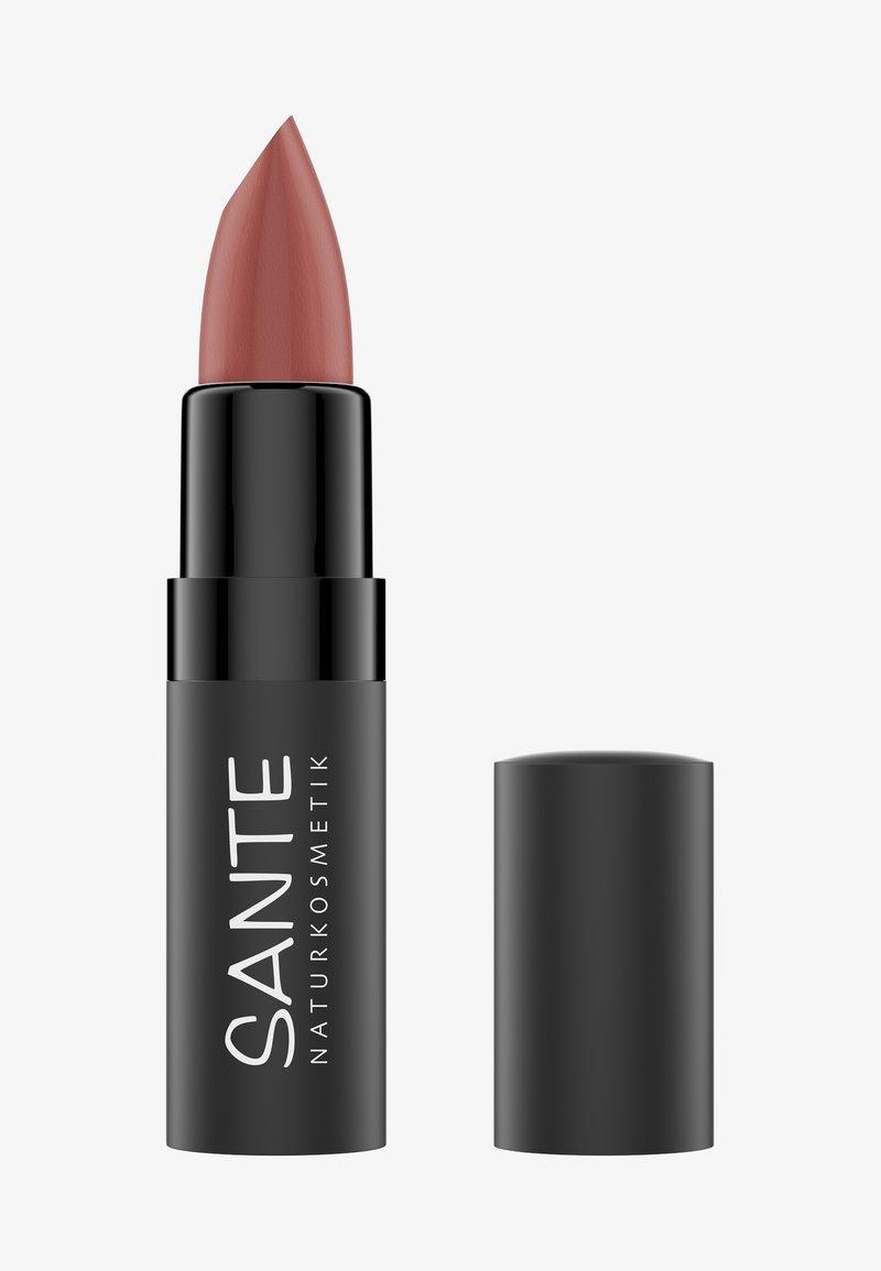 Sante - MATTE LIPSTICK - Lipstick - 03 blissful terra