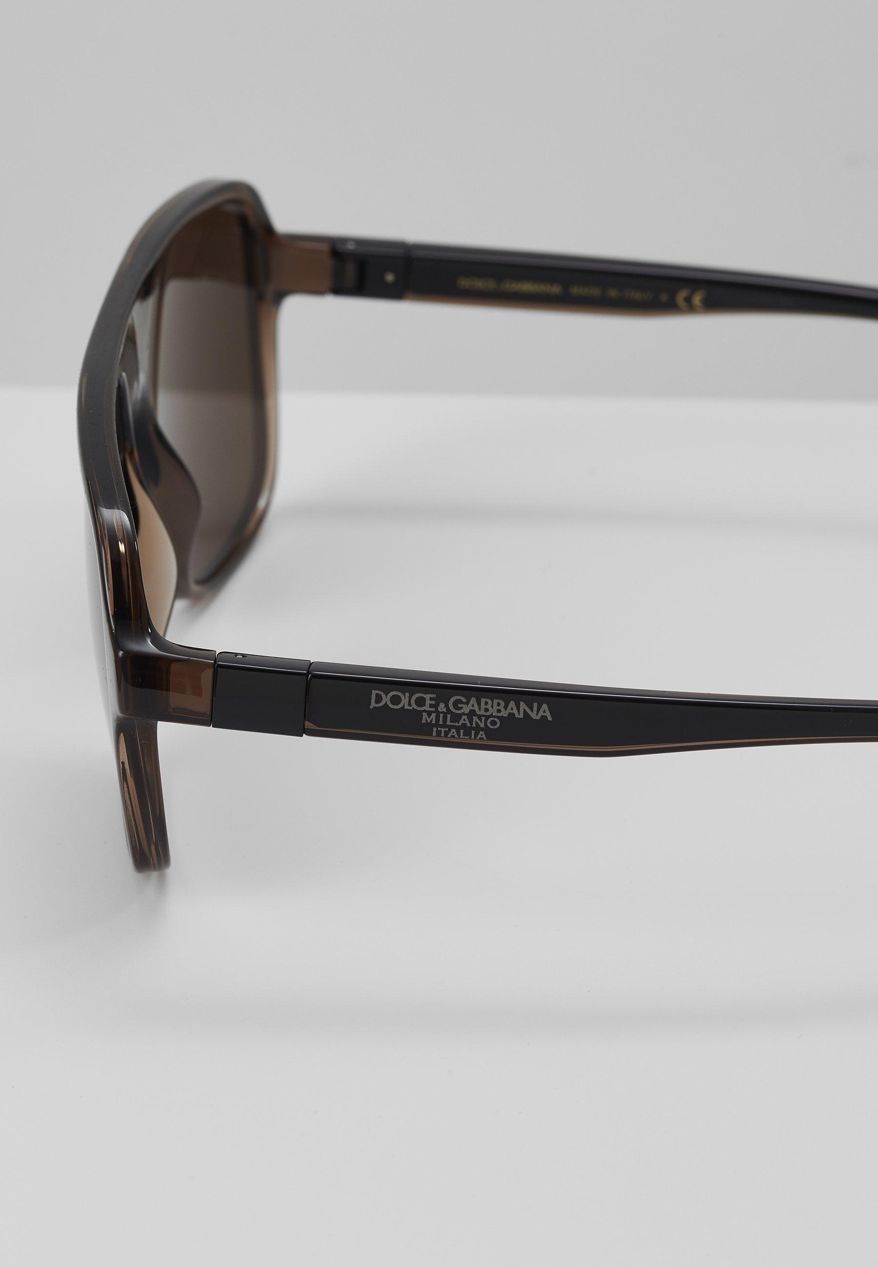 DolceGabbana Sonnenbrille - transparent brown/black/transparent - Herrenaccessoires 5QqPQ
