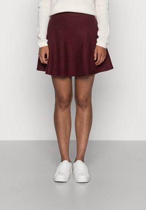 ONLNEW DALLAS SKIRT - Mini skirt - port royale