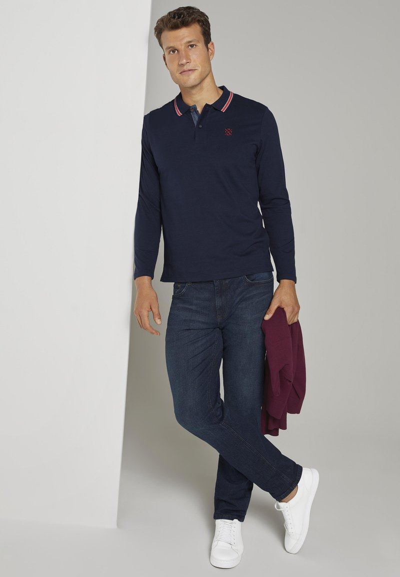 TOM TAILOR - Polo shirt - sky captain navy