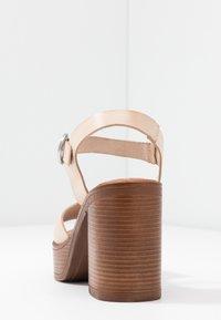 Musse & Cloud - UMA - High heeled sandals - beige - 5