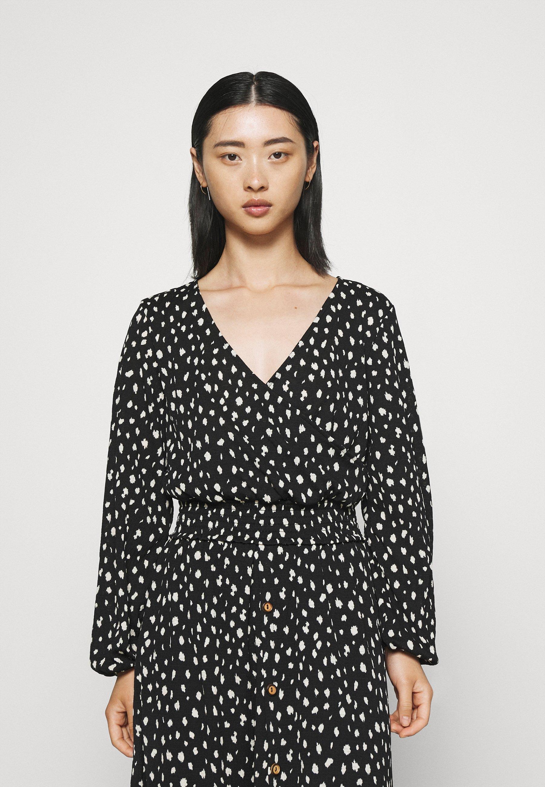 Women ONLPELLA WRAP SMOCK - Long sleeved top