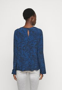 Gap Tall - PINTUCK - Blouse - blue floral - 2