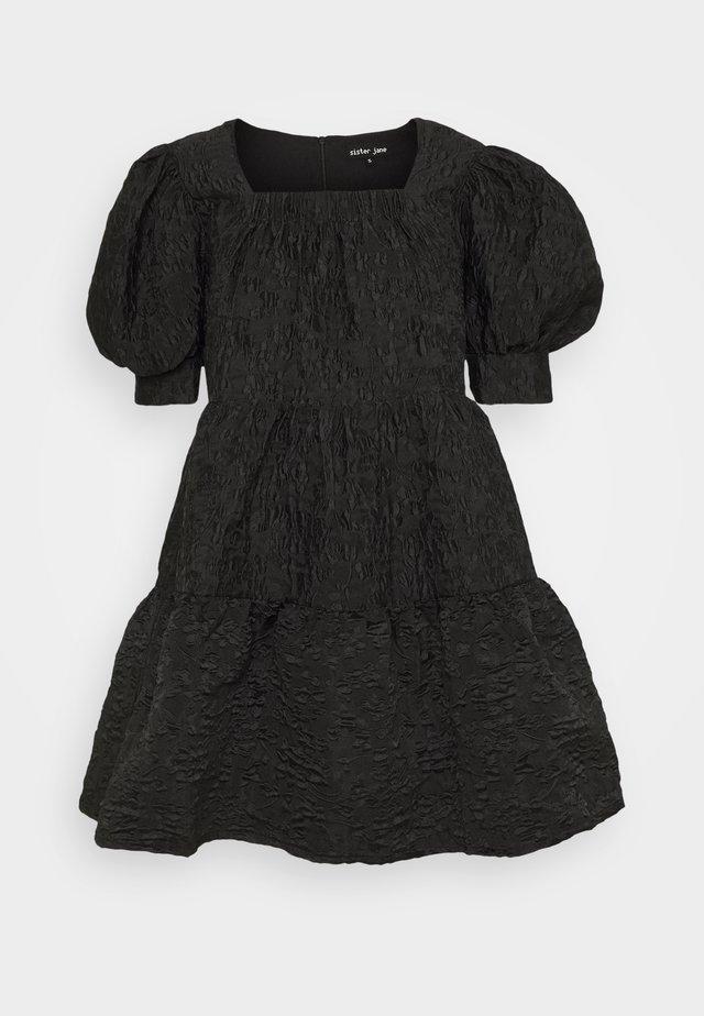 JUNIOR MISS CONFETTI DRESS - Day dress - black