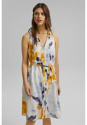 MIT BLUMEN-PRINT - Day dress - yellow