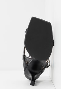 Dune London - MONTEREY  - Sandali con tacco - black - 6