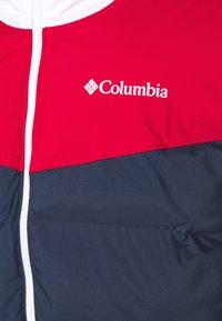 Columbia - ICELINE RIDGE JACKET - Laskettelutakki - collegiate navy/mountain red/white - 4