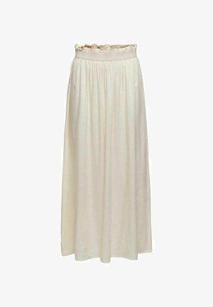 Pliceret nederdel /Nederdele med folder - ecru