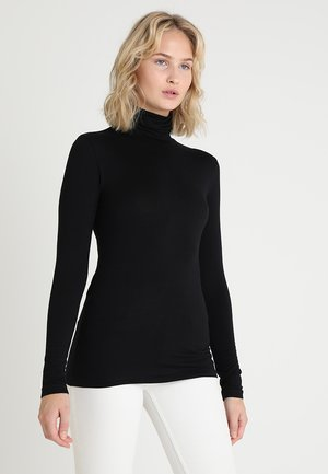 YOKO ROLLNECK - Long sleeved top - black deep