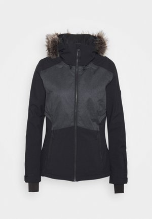 HALITE JACKET - Snowboard jacket - black out
