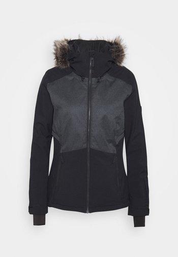 HALITE JACKET - Snowboard jacket - black out