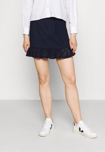 VMLEAH SHORT SKIRT  - Mini skirt - navy blazer