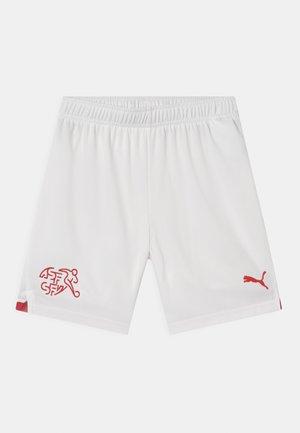 SCHWEIZ SFV UNISEX - Club wear - white/red