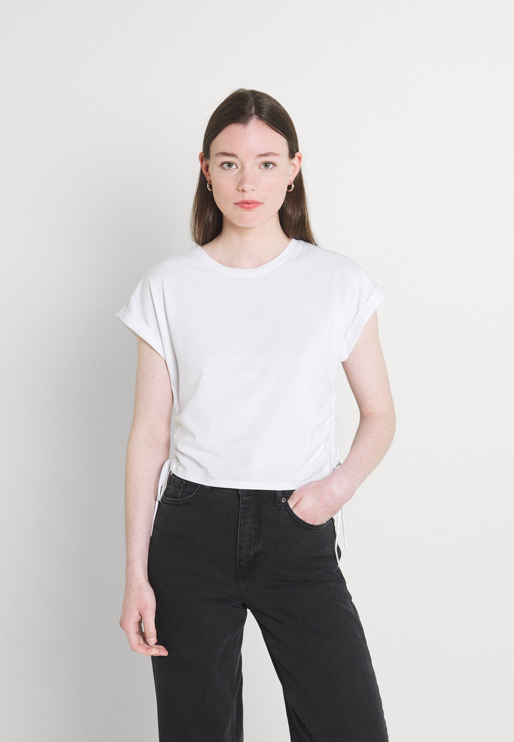 Damen DANI DRAWSTRING - T-Shirt basic