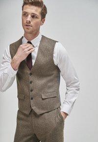 Next - Suit waistcoat - brown - 0