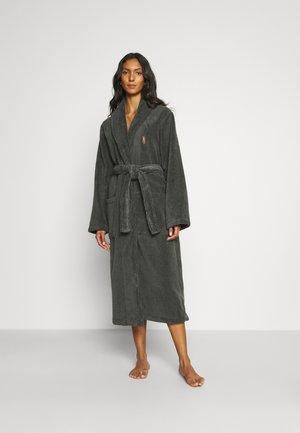 SHAWL - Dressing gown - dark slate
