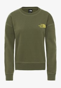 The North Face - WOMENS PARKS SLIGHTLY CROPPED CREW - Sweatshirt - burnt olive - 0