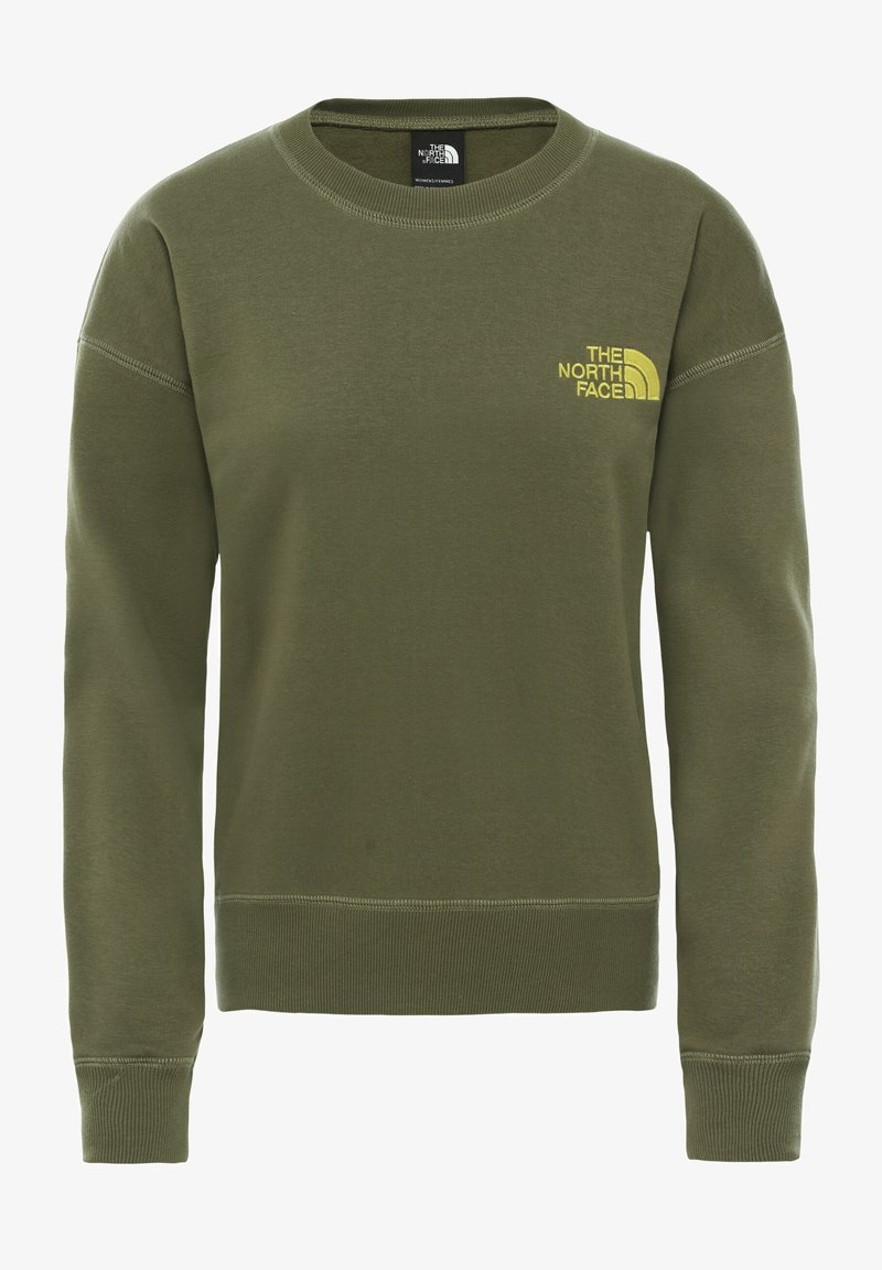 The North Face - WOMENS PARKS SLIGHTLY CROPPED CREW - Sweatshirt - burnt olive