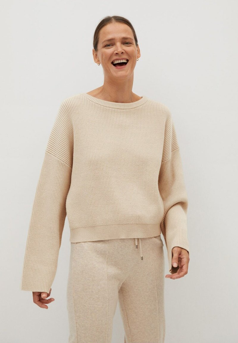Mango - TOTI - Jumper - light/pastel grey