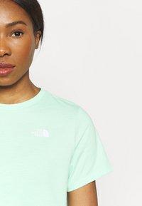 The North Face - FOUNDATION CROP TEE - Basic T-shirt - misty jade heather - 5