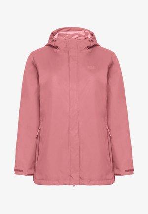 Waterproof jacket - rose quartz