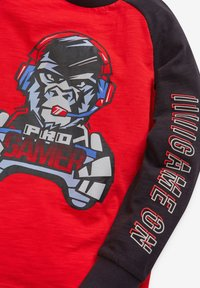 Next - GORILLA GAMER  - Long sleeved top - red - 2