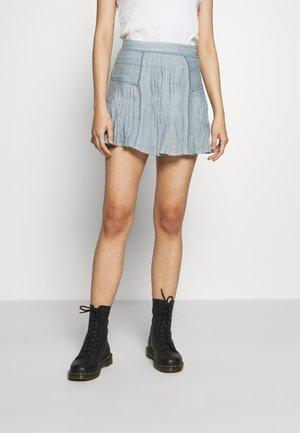 TOPACIO - Mini skirt - slate