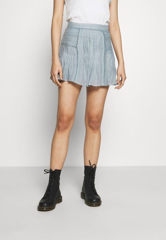 TOPACIO - Minifalda - slate