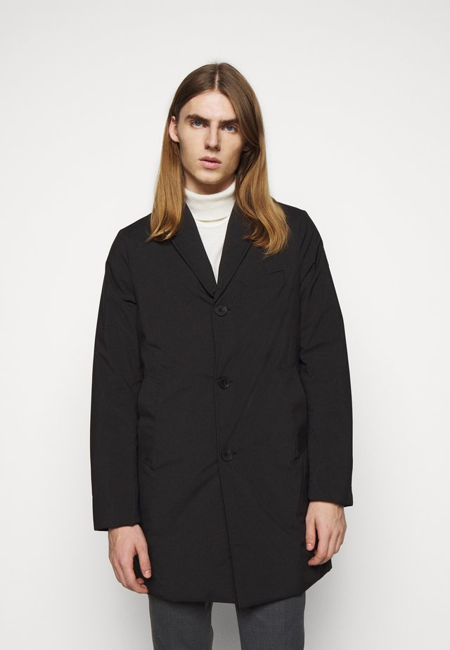WOLGER TECH PADDED COAT - Classic coat - black