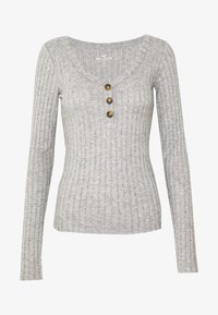 Hollister Co. - Long sleeved top - grey - 3