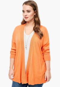 Triangle - MET EEN OPEN VOORPAND - Cardigan - orange - 0