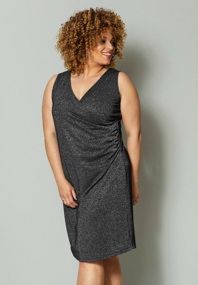 Jersey dress - silberfarben