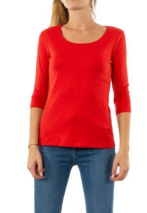 Long sleeved top - rouge