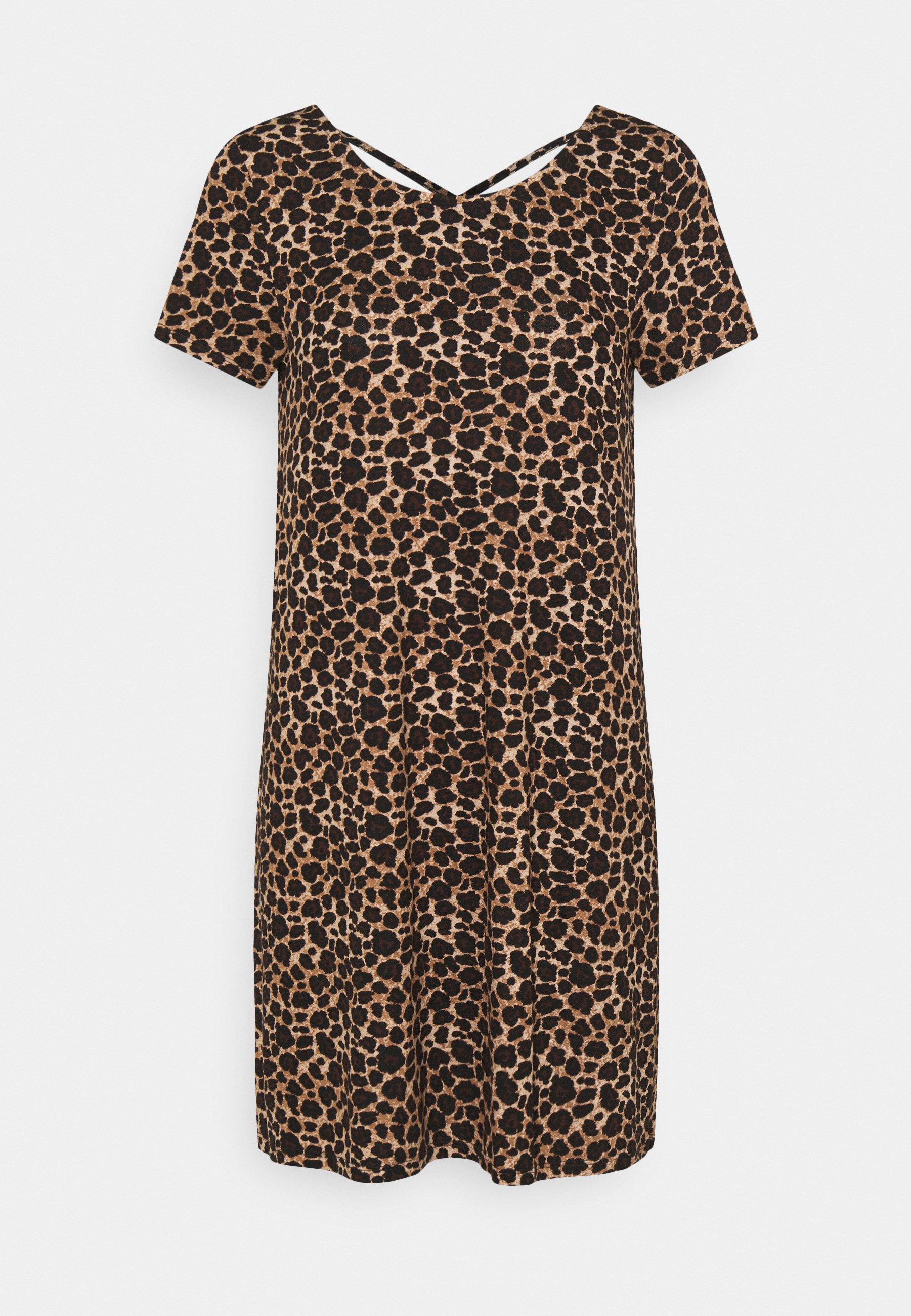 Women ONLBERA BACK LACEUP DRESS - Jersey dress