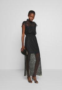 DESIGNERS REMIX - VANESSA LONG DRESS - Occasion wear - black - 1