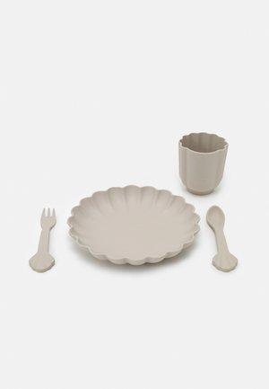 FLORA DINNER UNISEX - Kinderservies  - warm grey