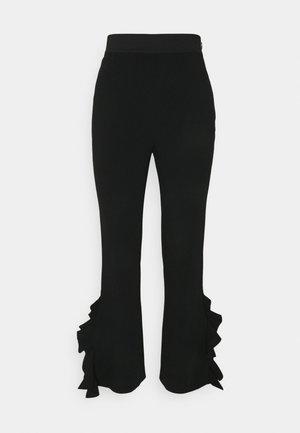 EMILY PANT - Trousers - black