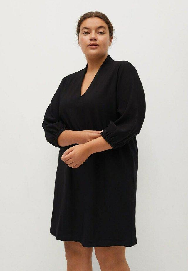 JAN - Korte jurk - schwarz